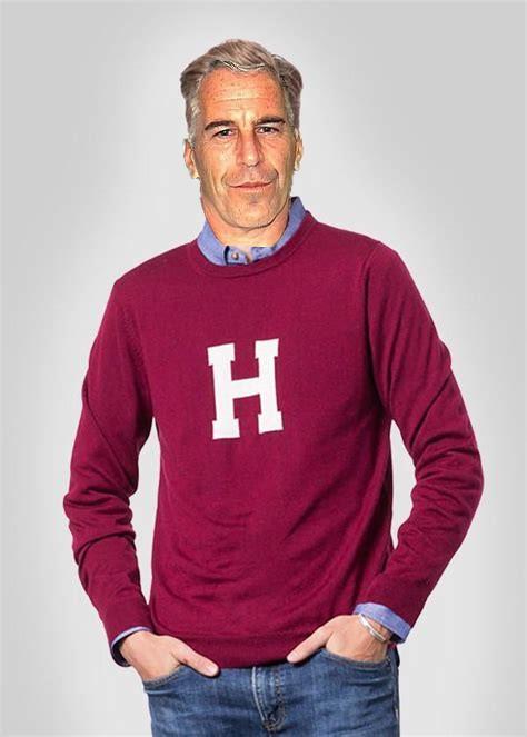 Epstein in harvard sweater