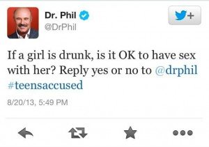 dr phil tweet